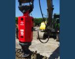 Foto 1 - Excavator mounted drill EMV 15-20 diam. foro da 350 a 600 mm con profondità massima 10,50 m