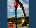 Foto 2 - Excavator mounted drill EMV 15-20 diam. foro da 350 a 600 mm con profondità massima 10,50 m
