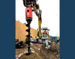 Foto 4 - Excavator mounted drill EMV 15-20 diam. foro da 350 a 600 mm con profondità massima 10,50 m